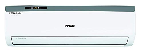 Voltas 1.4 Ton 3 Star Fixed Speed Split System AC (Copper, 2021 173 EZA, White)
