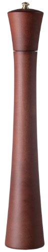 Fletchers' Mill Newport Pepper Mill, Mahogany Stain - 17 Inch, Adjustable Coarseness Fine to Coarse, MADE IN U.S.A.