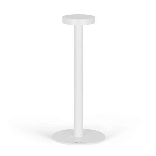 Stilo - Lámpara de mesa LED recargable con diseño minimalista - Inalámbrica - Luz ajustable en 2 intensidades - Hogar y restaurante - Batería de larga duración