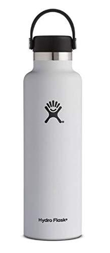 Hydro Flask Trinkflasche White Botella, Unisex Adulto, Blanco, 0,7 l