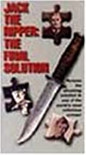 Jack the Ripper: The Final Solution VHS