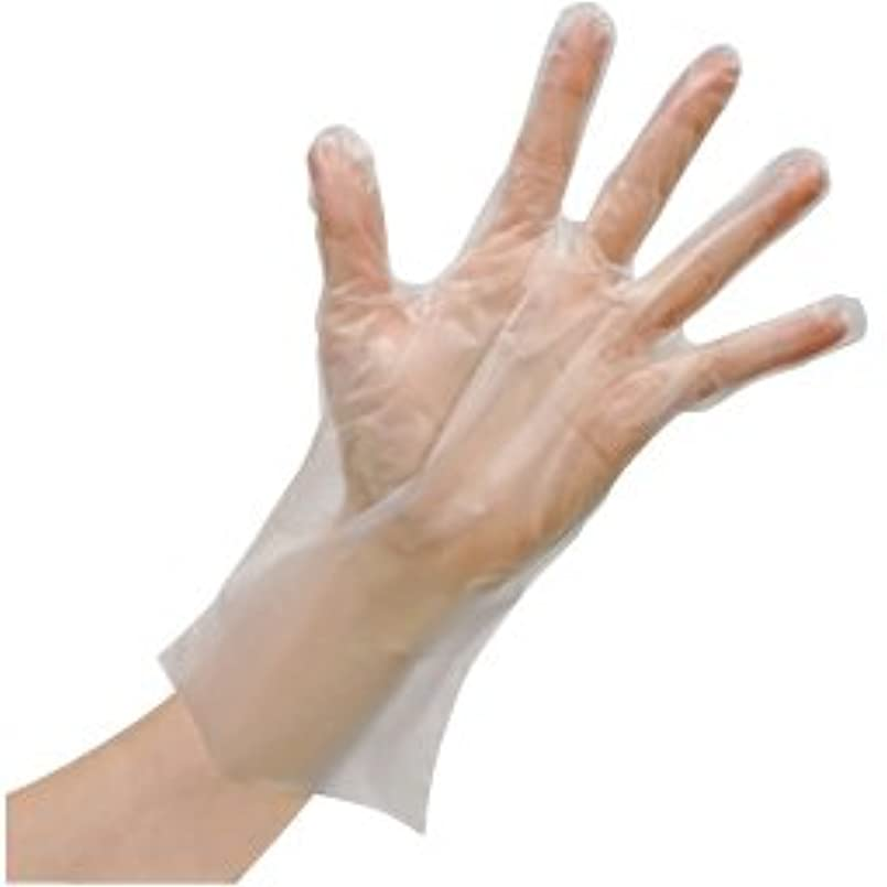 保有者親指君主使いきりLDポリエチレン手袋(箱) FR-5813(L)100???? ?????LD????????(??)(24-6743-02)【ファーストレイト】[60箱単位]