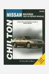 Chilton's Nissan Maxima 1993-04 Repair Manual Paperback