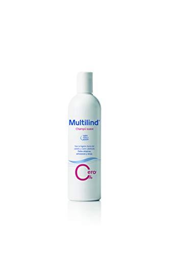 Multilind champú hipoalergénico para una higiene del cabello y cuero cabelludo sensible - 400ml