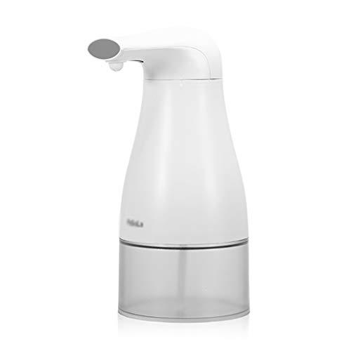 Distributeur de Savon Distributeur de Savon Intelligent Blanc de Distributeur de Savon de Mousse d'induction Automatique de Blanc de 250ML (Color : White)