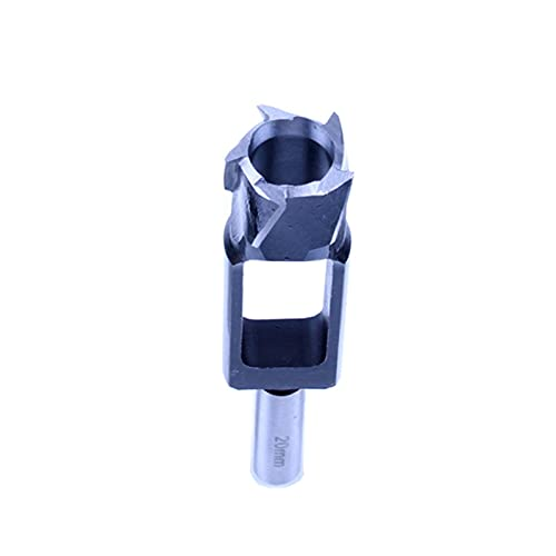 8-40mm High Carbon Steel Wood Plug Cutter Dowel Jig Woodworking Tenon Hole Drill Bit (Size : 20mm)