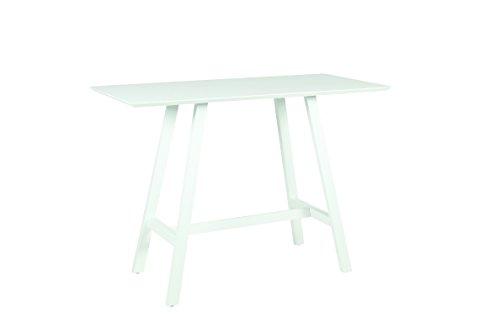 acamp bar tisch monte carlo Bartisch, weiß, 150 x 70 x 106 cm, 56961