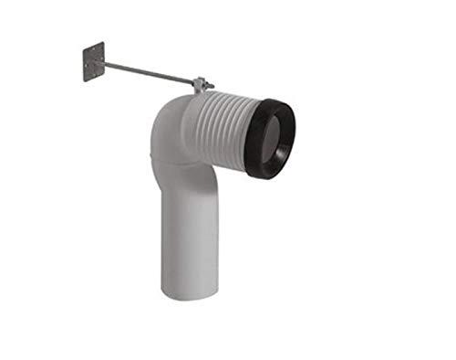 ACCESSORI SANITARI - CERAMICA GALASSIA (Curva Tecnica per Scarico Traslato da 6 a 14 cm)