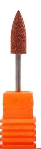 1 Bit für Nagelfräser Körnung 80 er Grit (Grob) (OM-45) braun