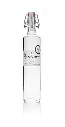 Grote & Co. Spirits Bio-Haselnuss Spirituose, besonders mild, 500ml Flasche mit Bügel-Verschluss, edler Haselnuss Schnaps handcrafted in Berlin