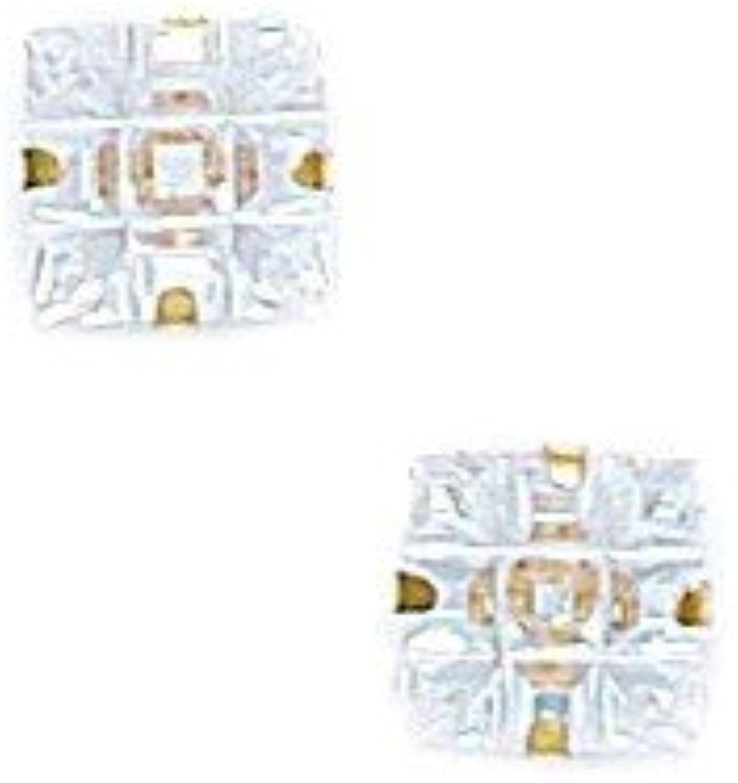 en venta en línea 14ct amarillo 6 x 6 mm 9 posiciones de clavijas clavijas clavijas segmento circonita cuadrada de luz Juego de pendientes de - JewelryWeb  tomamos a los clientes como nuestro dios