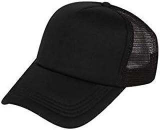 7c19b4c7 NexusWorld Unisex Plain Snapback Baseball Cap with net for Hunting,  Fishing, Outdoor Activities Black