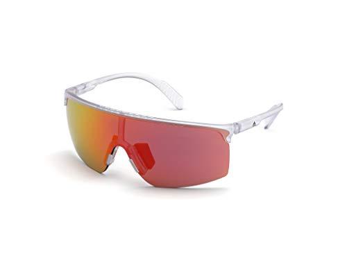 adidas SP0005 Gafas, Crystal/Smoke Mirror, 00 para Hombre