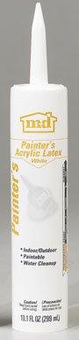 GE Silicone GE14449 Bright White Painter's Acrylic Latex Caulk 25 Year