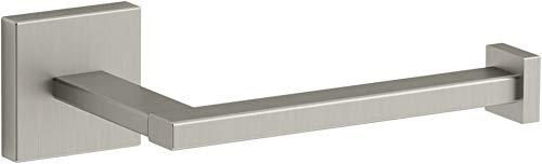 Kohler K-23292-BN Square Toilet Tissue Holders, Vibrant Brushed Nickel