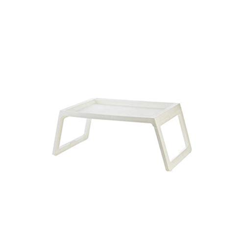 Kuaikaidan Portable Foldable Folding Laptop Desk for Bedroom Laptop Desk Sofa Bed Laptop Desk for Dining on Sofa Bed with Folding Legs (Color : White)