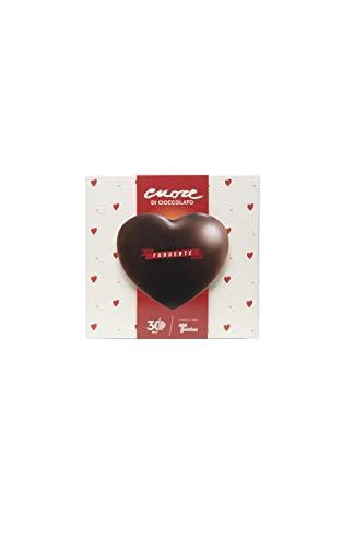 Cuore di cioccolato Telethon fondente. Il dono della generosità.