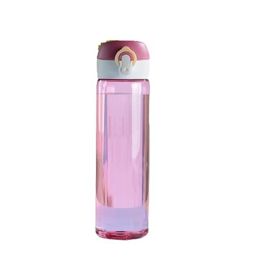 PUYEI Vaso recto creativo, vaso de agua de plástico, vaso de cuerda...