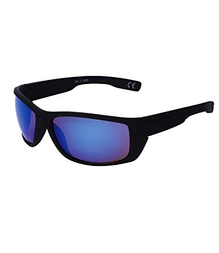 SIX Sportliche schwarze - Filtro UV 400 (437-509)