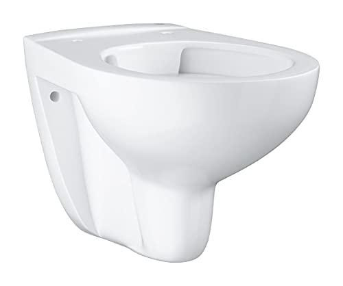 GROHE Cuvette WC suspendue, Bau Ceramic, sans rebord, blanc alpin, 39427000 (Import Allemagne)
