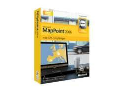 Microsoft MapPoint® 2006 with GPS Locator - Software de navegación (EMEA, 64...