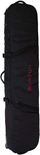 Burton Wheelie Board Case Board Bag, True Black New, 166