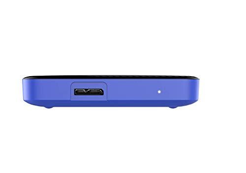 Western Digital Gaming Drive - Disco duro externo portátil para PlayStation 4 de 2 TB, color negro 3