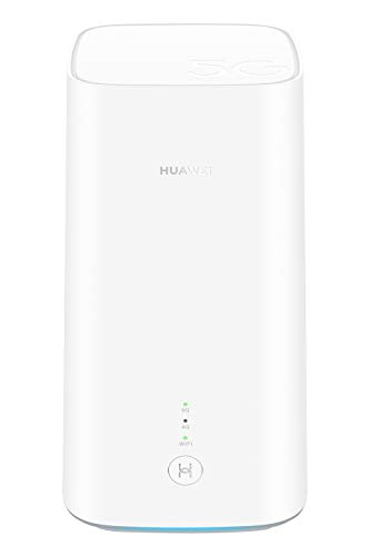 Huawei 5G CPE Pro, SmartHome 5G dual-band Wi-Fi, for ultra-fast connection in...