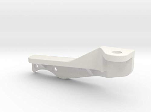 shapeways P40704-01 HG P407 Steering Arm, White Premium Versatile Plastic