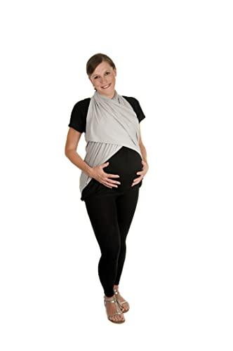 Boho Mama Luxury Breastfeeding Nursing Cover (Grey)