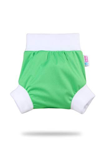 Petit Lulu Überhose (Schlupfüberhose) Größe M (6-10 kg) für Höschenwindeln und Nachtwindeln (Grün)