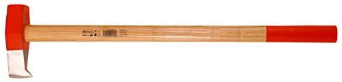 Connex COX844030 Spleethamer, 3000 g hoofdgewicht, robuuste steel van essenhout, ideale krachtoverbrenging, 3 keer geklemd, met draaistaas, splitsleutel, slaggereedschap, houtsplijter, houtsplijter