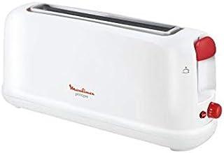 comprar comparacion Moulinex Principio LS160111 - Tostadora de una ranura larga de 25 cm, bandeja recoge-migas con 7 niveles de tueste, modo d...