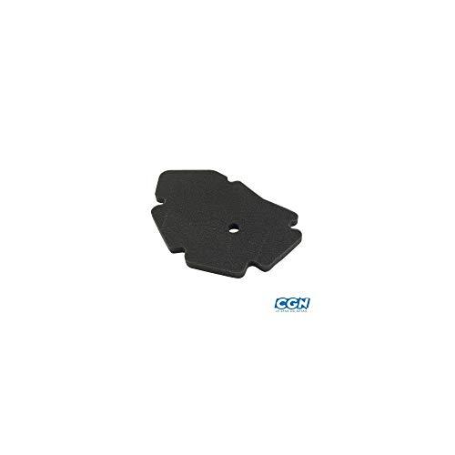 Motodak Teknix adapter, schuimrubberen luchtfilter 125/180 Piaggio X9 01-02/Dna/Runner 00-03