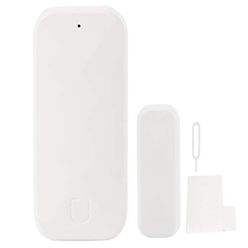 Sensor de puerta/ventana, sistema de seguridad antirrobo del sensor de alarma de la ventana de la puerta del hogar inteligente Wifi inalámbrico para suministros del hogar
