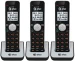 AT&T CL80111 DECT 6.0 Cordless Phone 3 Pack