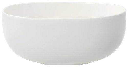 Villeroy & Boch Urban Nature runde Schüssel 20,5 cm, Premium Porzellan, weiß, 20.5 cm