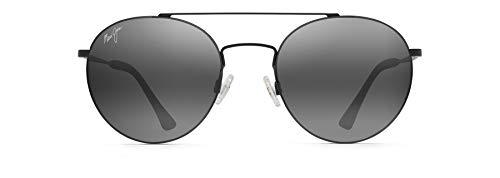 Maui Jim Pele's Hair con lentes polarizadas patentadas polarizadPlus2, lentes de sol polarizadas, negro mate, polarizadas, tamaño mediano