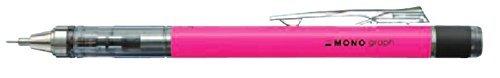 トンボ鉛筆 シャープペン モノグラフ0.5ネオンカラ− ネオンピンク 5本組み