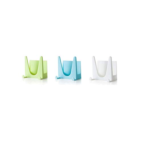 Takestop® - Soporte de plástico para apoyar accesorios de cocina como tapas...