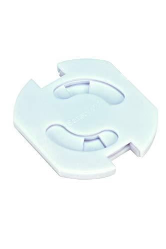 Safety 1st Copriprese girevoli per prese a 2 poli, 8 pezzi, Bianco