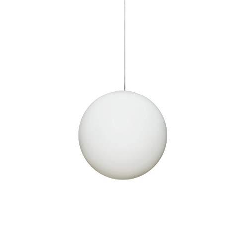 Luna Pendelleuchte S, weiß Ø 16cm