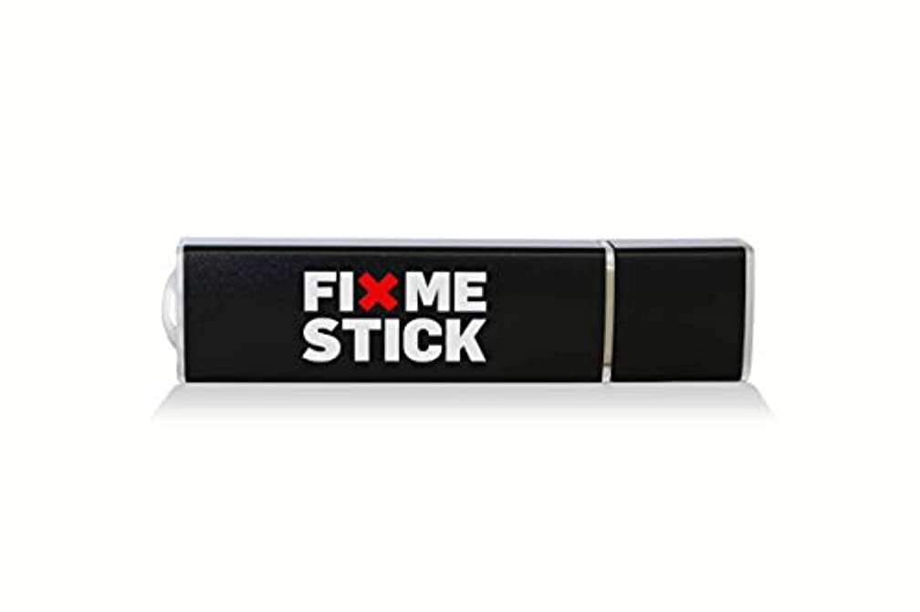 FixMeStick Virus Removal Device - Unlimited Use on up to 5 PCs for 2 Years