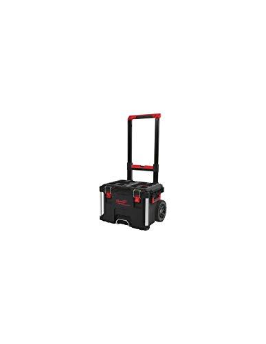 Milwaukee 4932464078 - Carro de transporte con maletín de transporte PACKOUT-560x410x480-4932464078