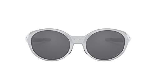 Oakley Herren 0OO9438 Sonnenbrille, Silver, 58