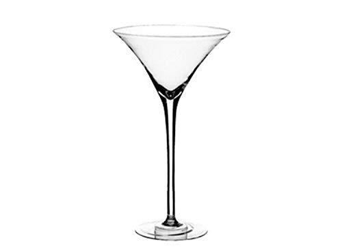Lovely Flower XXL Deko Martiniglas Bodenvase Martini Vase Riesen Glas XL 50 cm