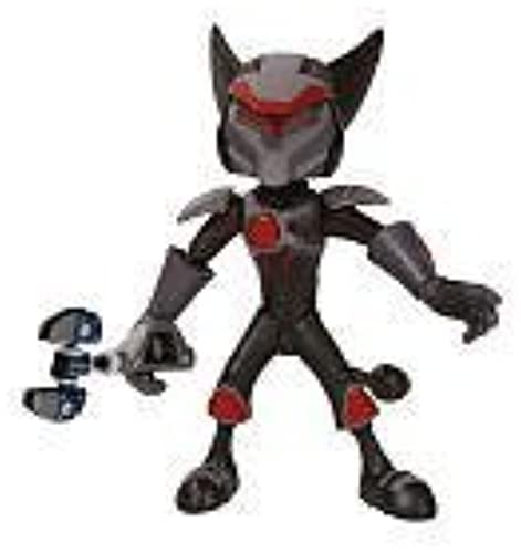 DC Direct Ratchet and Clank Future Series 2 Action Figure Hyperflux Arm Ratchet by DC Direct (English Manual)