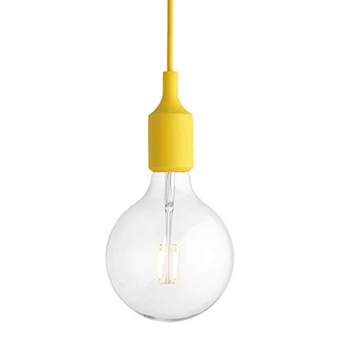 E27LED Lampada a sospensione Design gelb/2500K/160lm/dimmbar/Ø12.5cm
