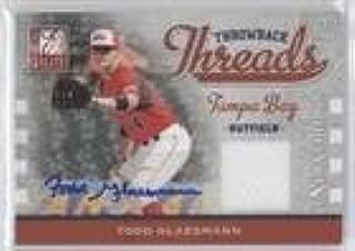Todd Glaesmann #176/250 (Baseball Card) 2009 Donruss Elite Extra Edition - Throwback Threads - Signatures #TT-TG