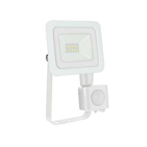SpectrumLED Noctis Lux 2 Projecteur Blanc 10 W avec capteur de mouvement, couleur de lumière au choix 3000 K blanc chaud.